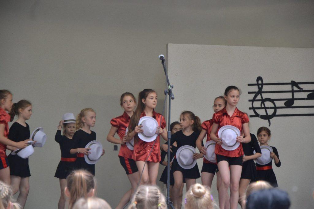 Debiut grupy tanecznej