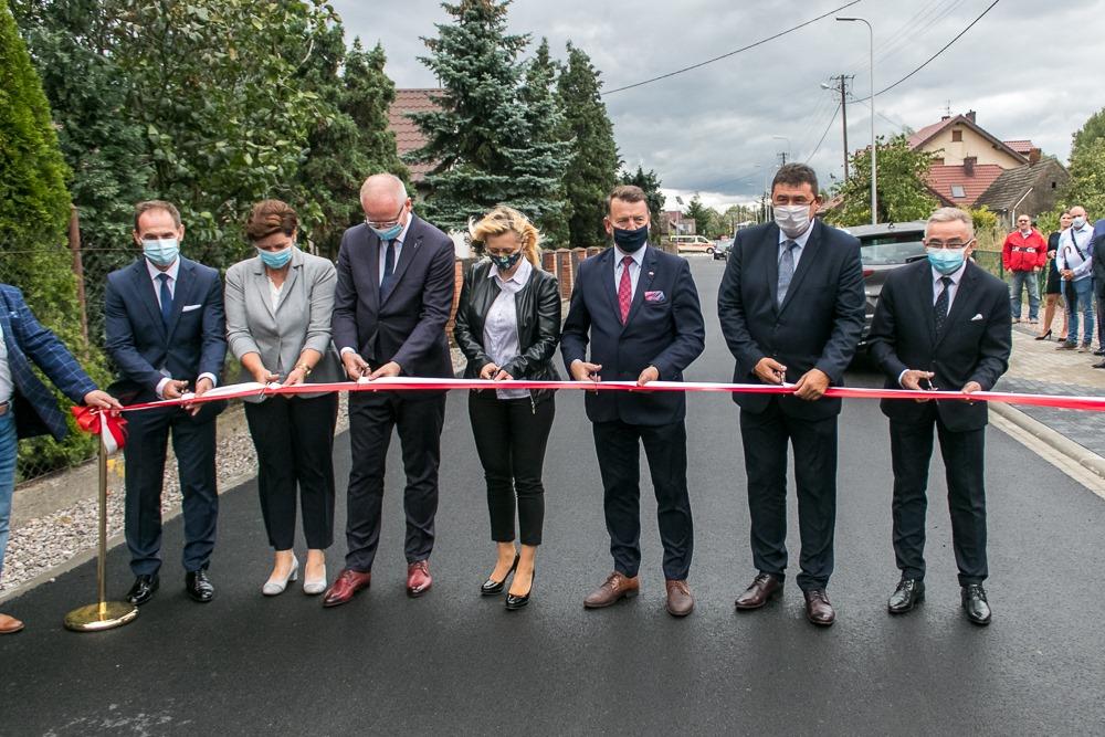 Oddanie drogi w miejscowości Wola Łaszczowa